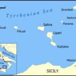 Cartes des îles Eoliennes